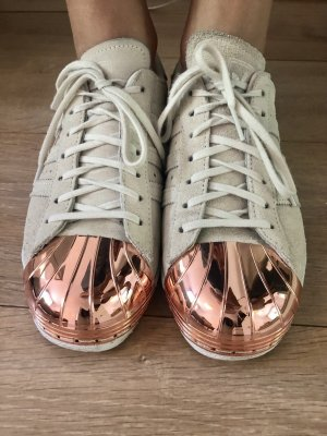 Adidas Superstars Metal Toe Sneaker Wildleder 38.5