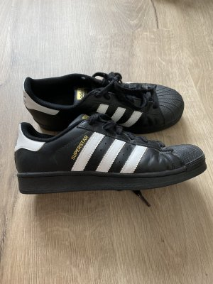 Adidas Lace-Up Sneaker black-white