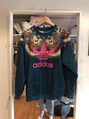Adidas Sweter oversize Wielokolorowy