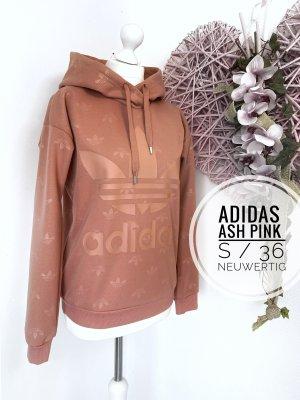 Adidas sweater Sweatshirt neu Pulli Kapuzenpulli Pullover hoodie ash Pink 36 s Sport blogger vintage