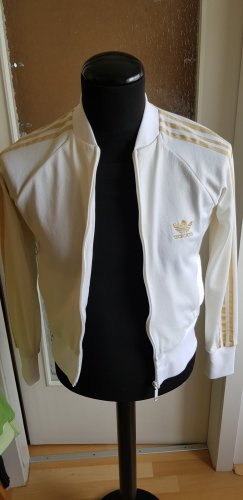 Adidas Originals Sportjack wit-goud