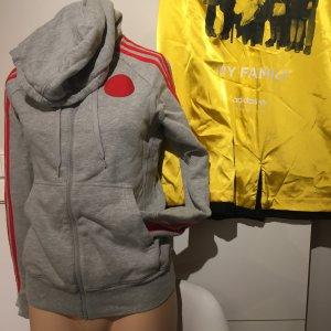 Adidas Sweaterjacke s 36 grau gefliest