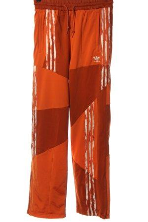 Adidas Spodnie dresowe jasny pomarańczowy W stylu casual