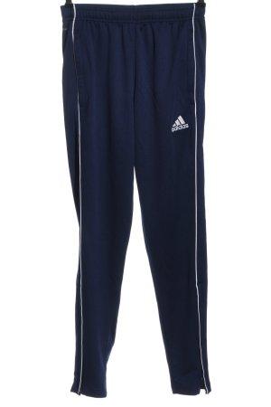 Adidas Sweathose blau Casual-Look