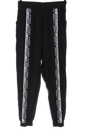 Adidas Pantalon de jogging noir style décontracté