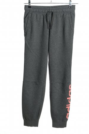 Adidas Sweathose hellgrau-pink meliert Casual-Look