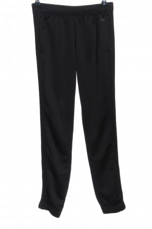 Adidas Pantalone fitness nero stile casual