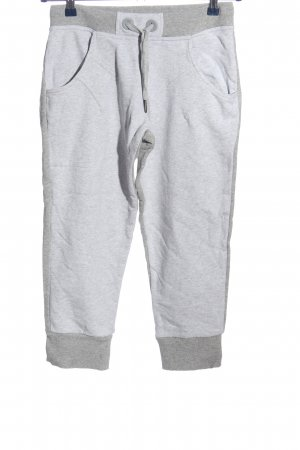 Adidas Pantalón deportivo gris claro moteado look casual