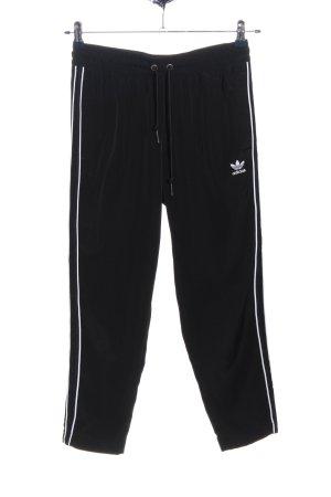 Adidas Pantalone fitness nero stile atletico