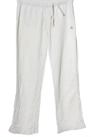 Adidas Pantalón deportivo blanco-gris claro elegante