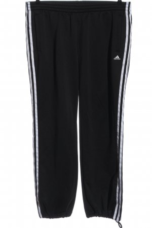 Adidas Sweat Pants black-white casual look