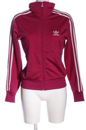 Adidas Veste sweat rose imprimé avec thème style décontracté