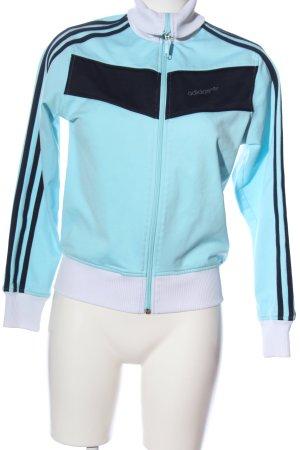 Adidas Sweatjacke Streifenmuster Casual-Look