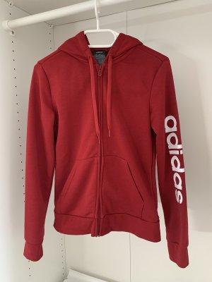 Adidas Shirt Jacket dark red-white
