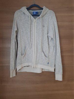Adidas Kurtka dresowa jasnobeżowy