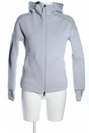 Adidas Sweatjacke hellgrau Casual-Look