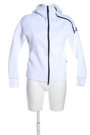 Adidas Sweatjacke weiß Casual-Look