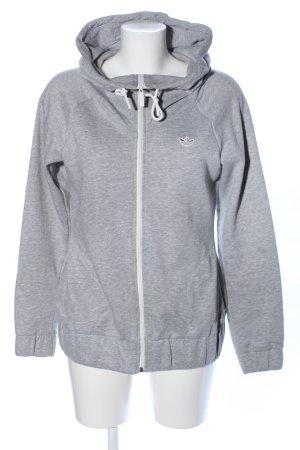 Hellgrau Sweatjacke Casual Adidas Meliert Look trhsQd