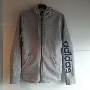 Adidas Chaqueta deportiva gris claro