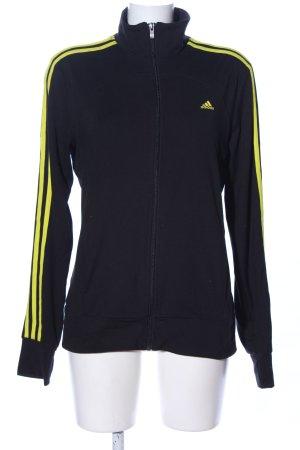 Adidas Sweatjacke schwarz sportlicher Stil