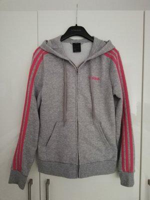 Adidas Kurtka z kapturem szary
