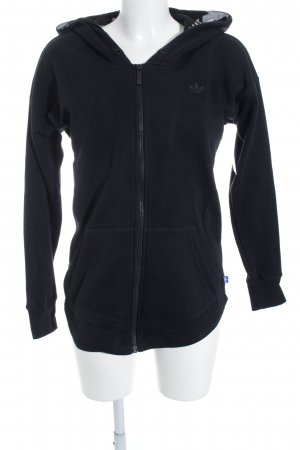 Adidas Sweatjacke schwarz Casual-Look