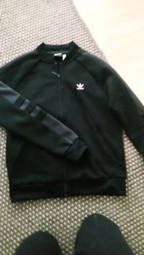 Adidas Sweatjacke schwarz /grau