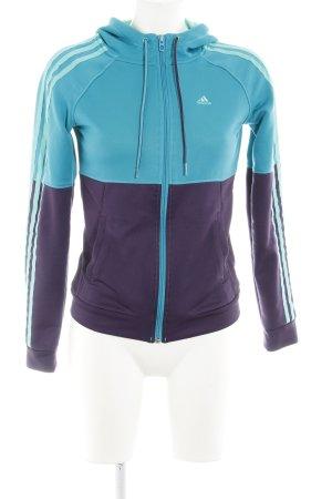 Adidas Sweatjacke Streifenmuster sportlicher Stil