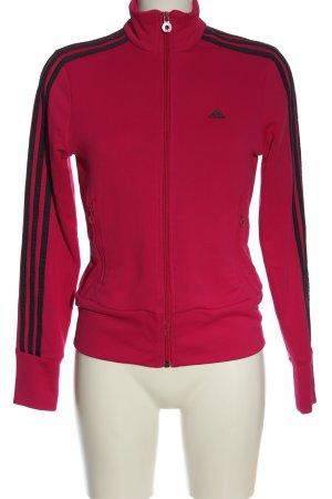 Adidas Sweatshirt pink-schwarz Casual-Look