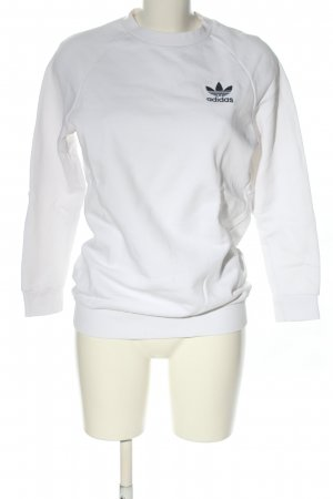 Adidas Sweatshirt Motivdruck Casual-Look