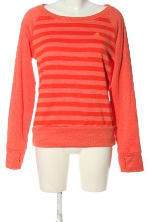 Adidas Bluza dresowa jasny pomarańczowy Melanżowy W stylu casual