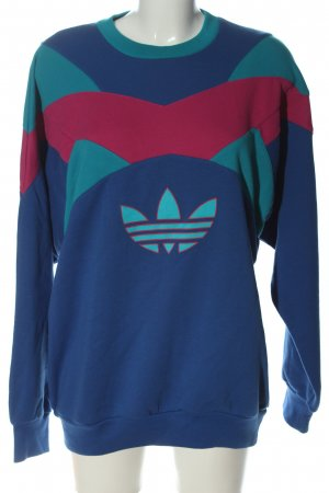 Adidas Bluza dresowa Nadruk z motywem W stylu casual