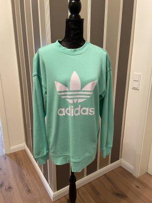 Adidas Sweatshirt turquoise