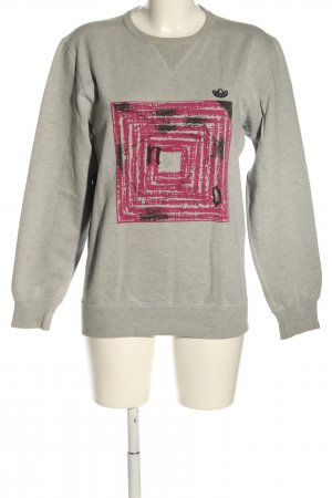 Adidas Sweatshirt moucheté style décontracté