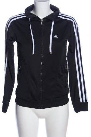 Adidas Sweatshirt schwarz-weiß Casual-Look