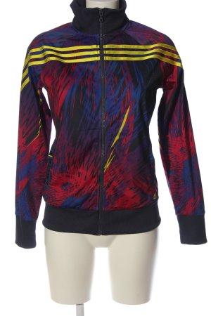 Adidas Sweatshirt abstraktes Muster Casual-Look
