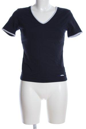 Adidas T-Shirt schwarz-weiß Casual-Look