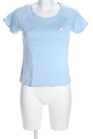 Adidas T-Shirt blau Casual-Look