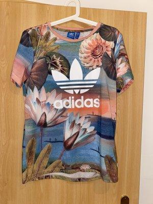 Adidas Camicia fantasia multicolore