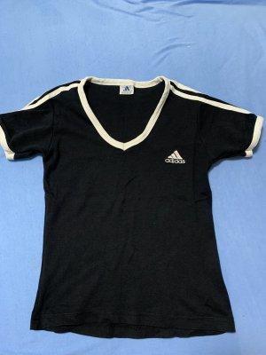 Adidas T-Shirt black-white