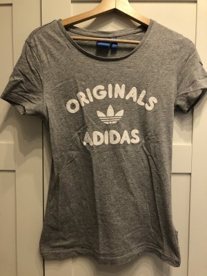 Adidas T-shirt biały-szary