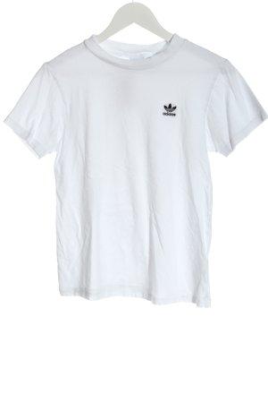 Adidas T-shirt bianco stile casual