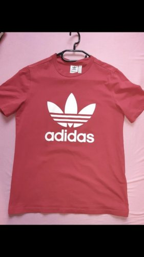 Adidas T-shirt rood-wit