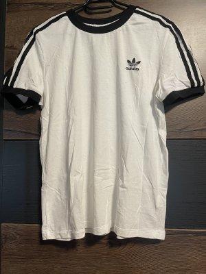Adidas T-Shirt white-black