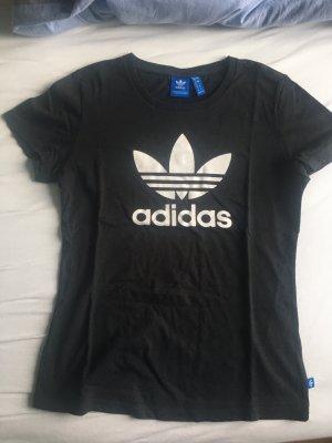 Adidas T-shirt zwart-wit
