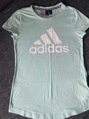 Adidas Maglietta sport turchese