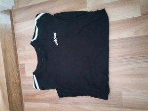 Adidas T-shirt blanc-noir