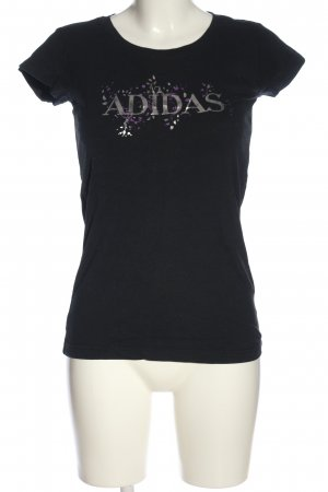 Adidas T-Shirt themed print casual look