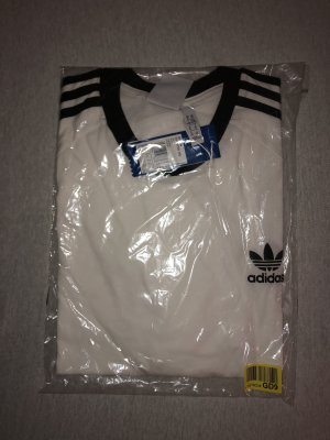 Adidas T-shirt bianco-nero