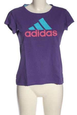 Adidas T-Shirt mehrfarbig Casual-Look